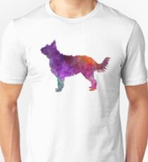 Picardy Sheepdog in watercolor Unisex T-Shirt