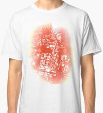 Warsaw city map classic Classic T-Shirt