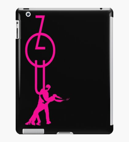 lets dance zouk - pink iPad Case/Skin
