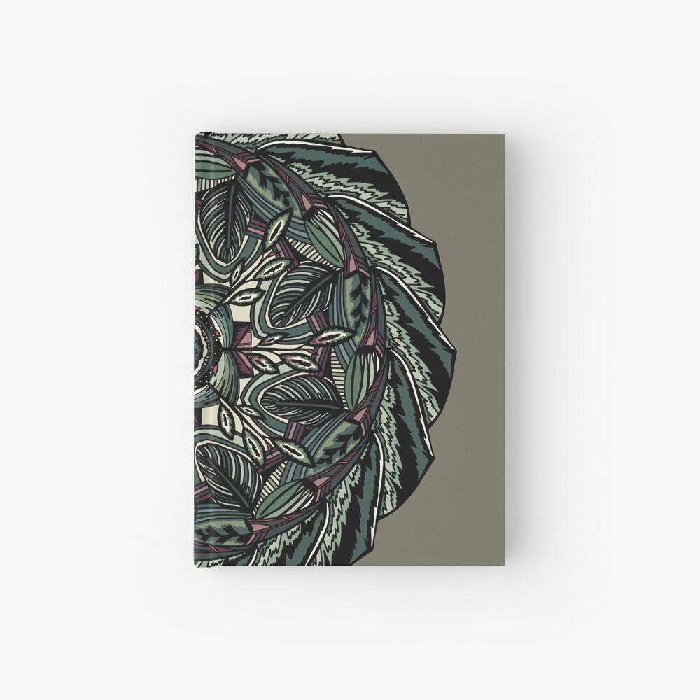 House Plants Mandala Hardcover Journal