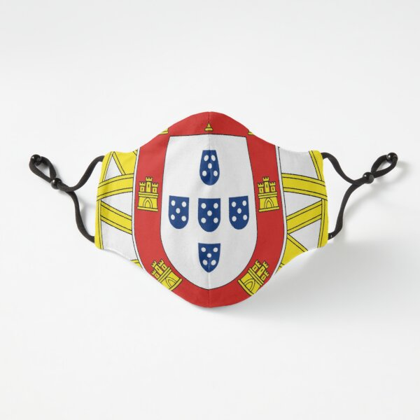 Symbol on the Portuguese Flag Fitted 3-Layer