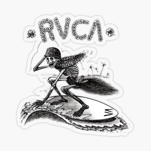 helloween skull surf Transparent Sticker