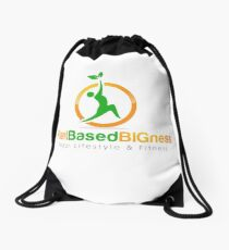 Plant Based BIGness Drawstring Bag