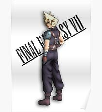 Final Fantasy Character - VII Cloud Poster