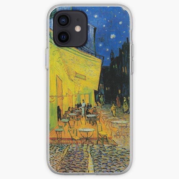 Café Terrace at Night - Vincent Van Gogh iPhone Soft Case
