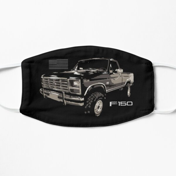 Vintage 1986 Ford F150 XLT Lariat Truck Flat Mask