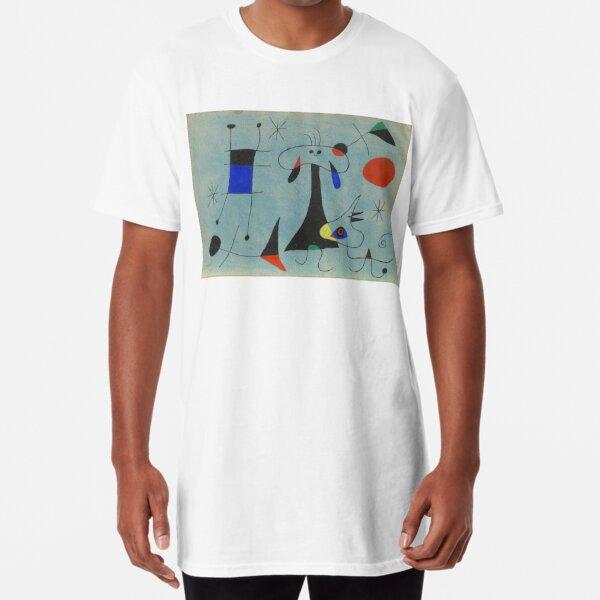 Peinture de Joan Miró T-shirt long