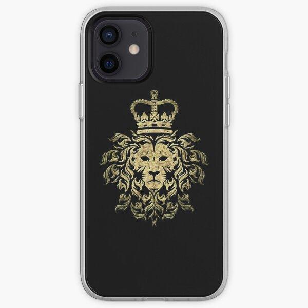 Lion T-ShirtVintage Gucci - Majestic Lion iPhone Soft Case
