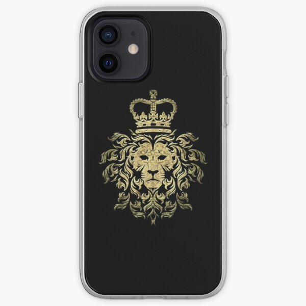 Camiseta León Gucci Vintage - Majestic Lion Funda blanda para iPhone