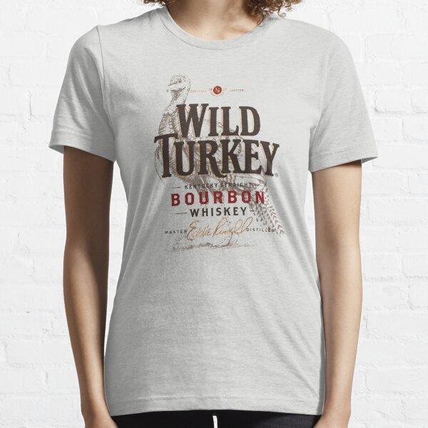 Retro Wild Turkey Premium  Essential T-Shirt