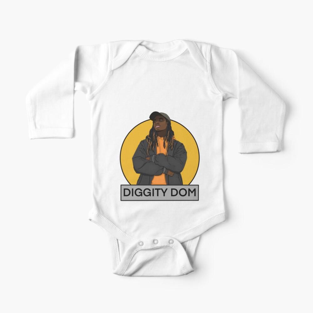 Diggity Dom Logo Baby One-Piece