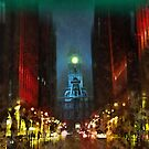 Foggy Night in Philly by John Rivera
