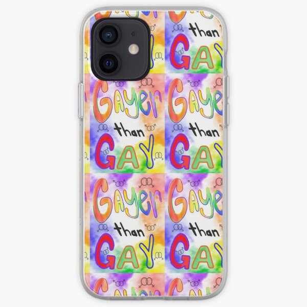 Gayer than Gay!  iPhone Soft Case