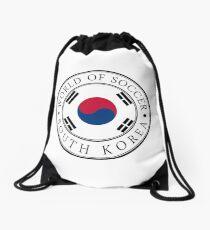 Südkorea Fußballwelt Rucksackbeutel