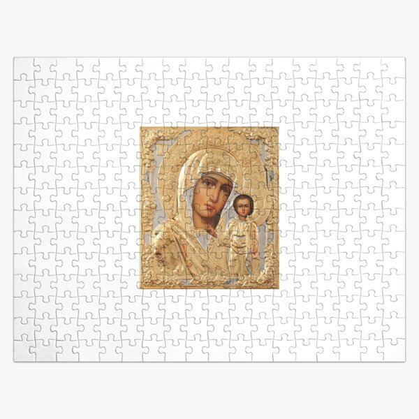 Икона Божией Матери - Icon of the Mother of God Jigsaw Puzzle