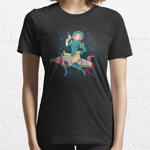 Rocket Ride Pinup Essential T-Shirt
