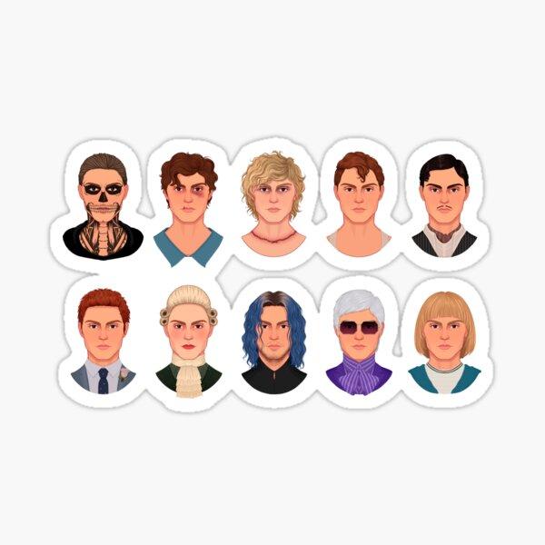 evan peters ahs characters Sticker