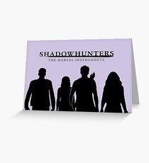Shadowhunters Greeting Card