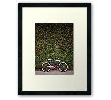 Cruiser & Wall Framed Print