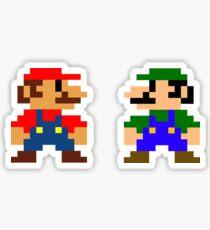 Mario And Luigi Sticker