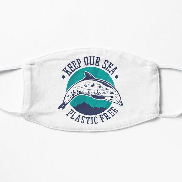 Halten Sie unseren Seekunststoff frei Flache Maske