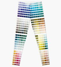 Colour Chart with codes Leggings