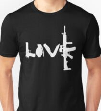 Love weapons - version 2 - White T-Shirt