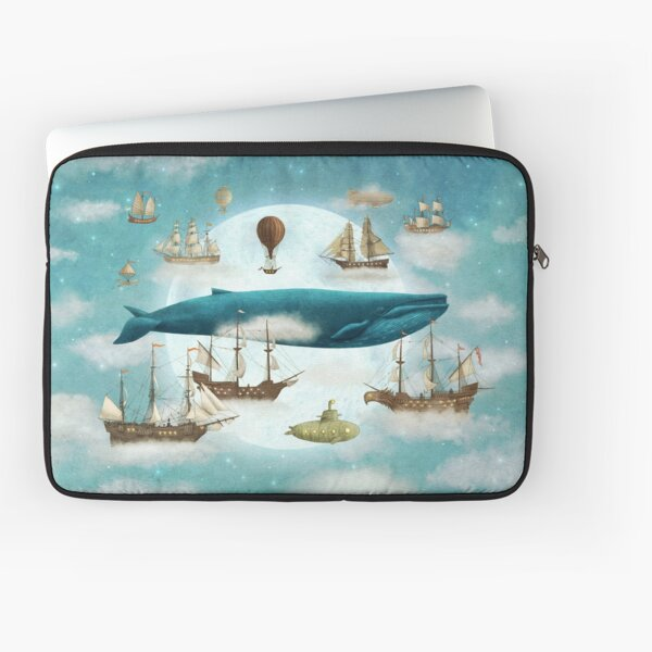 Ocean Meets Sky - Book Laptop Sleeve