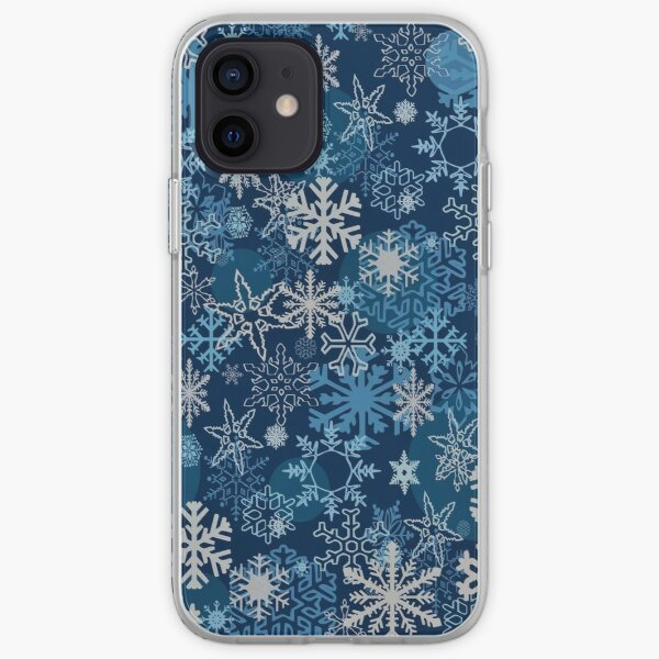 Christmas Snowflake Winter Patterns 12 iPhone Soft Case
