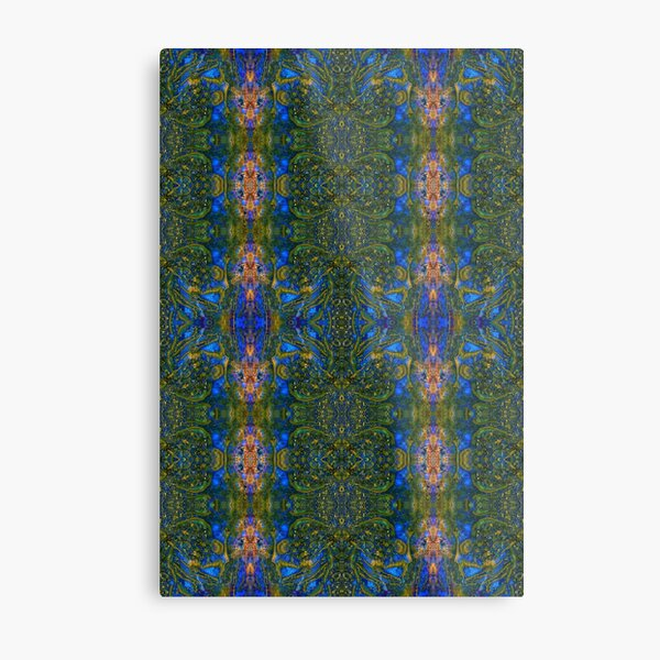 Lithoviso stone design: Pattern made from a gemstone found by yourself: Jasper # 4 Metal Print