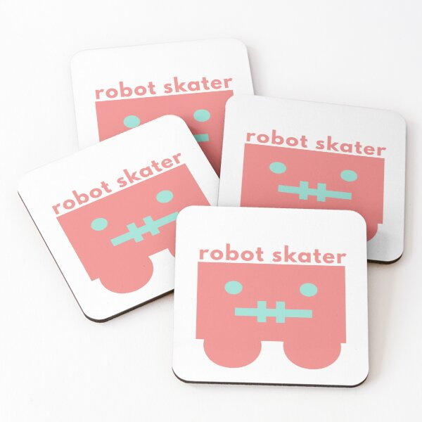Skater Style Coasters (Set of 4)