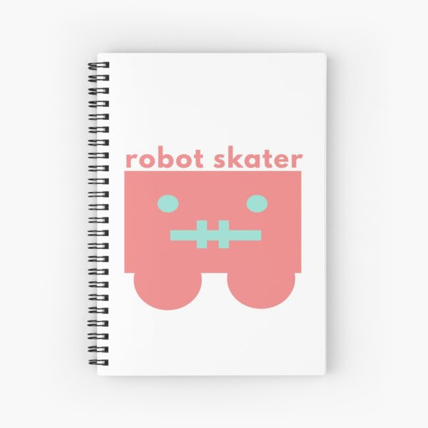 Skater Style Spiral Notebook