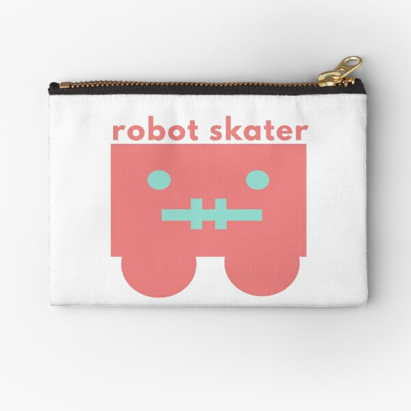 Skater Style Zipper Pouch