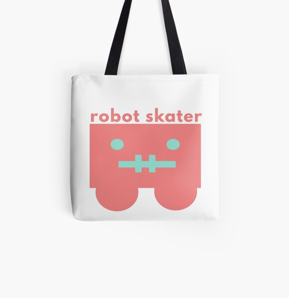 Skater Style All Over Print Tote Bag