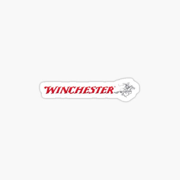 Logotipo retro vintage de Winchester Pegatina