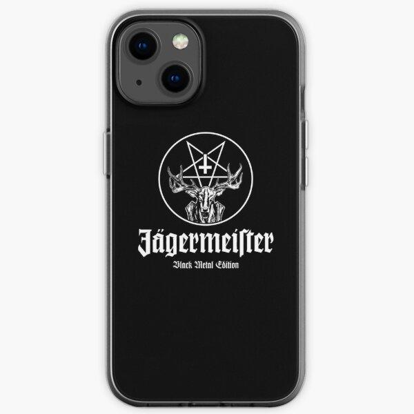Jäger Black Metal iPhone Flexible Hülle