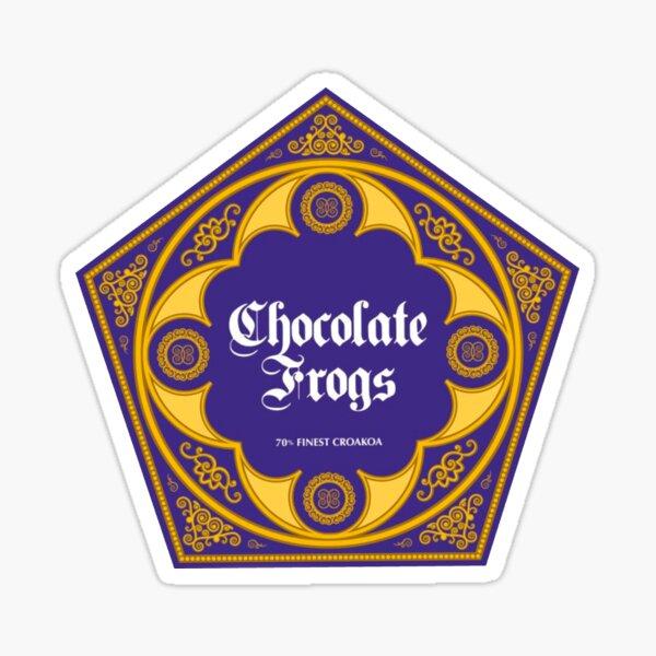 Chocolate frogs Sticker
