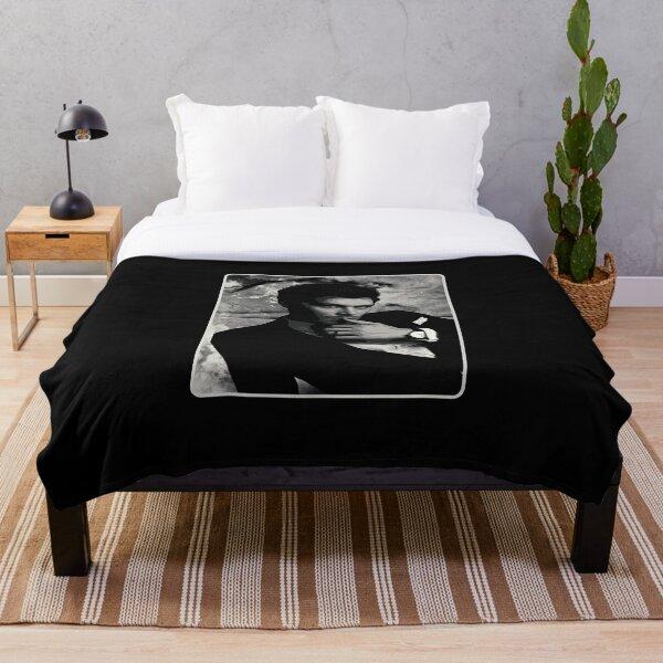 klaus tvd potrait Klaus Mikaelson Throw Blanket