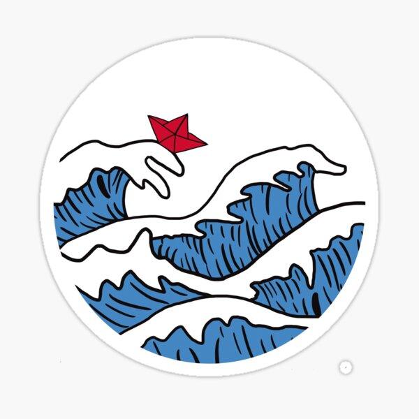 start the wave Sticker