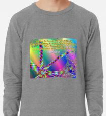 Philippians 4:6 Do Not Be Anxious About Anything Lightweight Sweatshirt