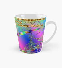 Philippians 4:6 Do Not Be Anxious About Anything Tall Mug