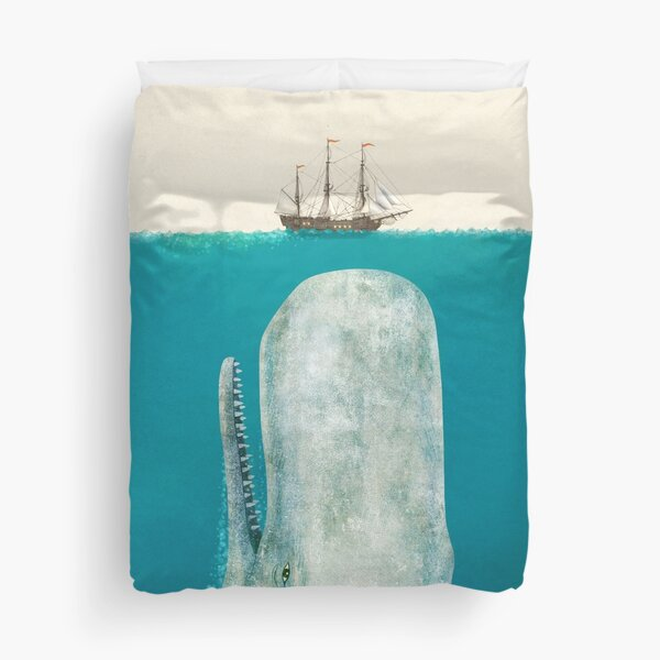 The Whale (Option) Duvet Cover