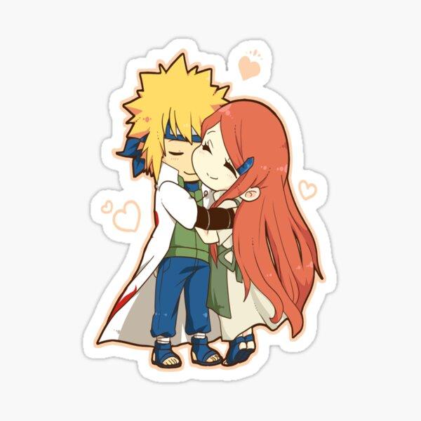 Minato & Kushina chibi Sticker