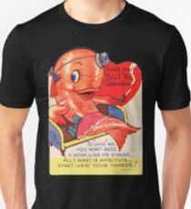 Vintage Valentine smoking fish T-Shirt