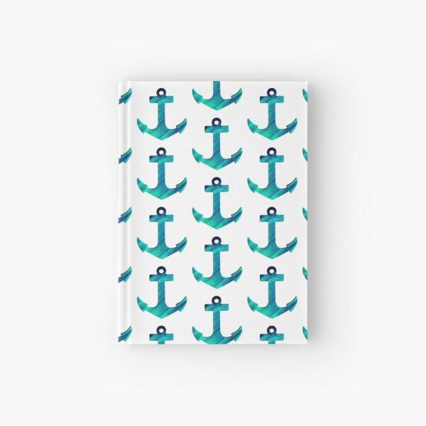 Anchors Away Hardcover Journal