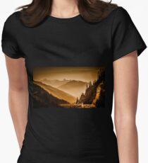 Arlberg Pass Austria Women's Fitted T-Shirt