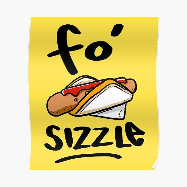 Aussie Sausage Sizzle Meme Poster