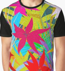 Tropical Foliage Graphic T-Shirt
