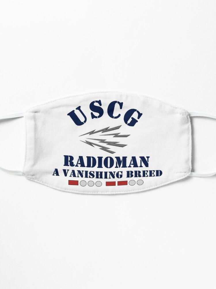 Alternate view of USCG Radioman A Vanishing Breed Mask