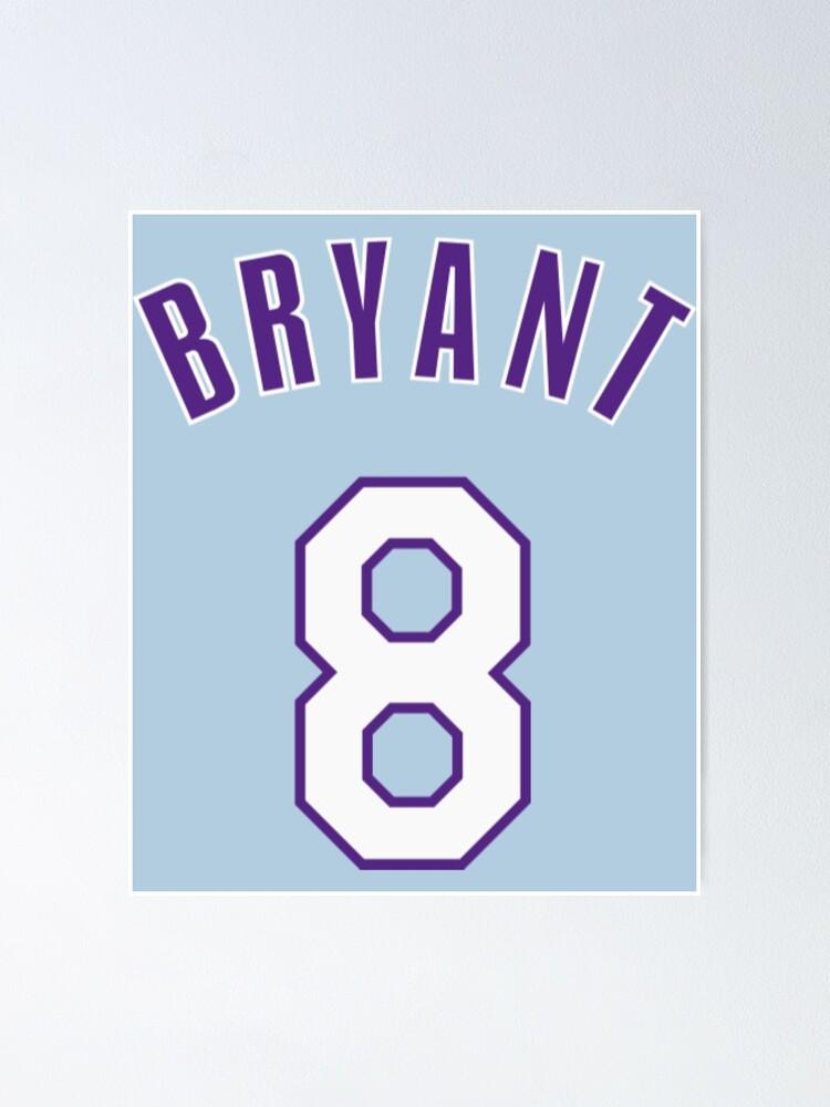 Kobe Bryant Jersey Number T-Shirt